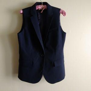 J. Crew Navy Vest, Like New